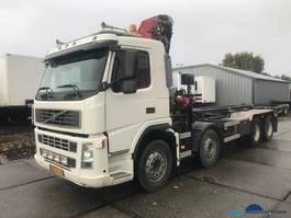 crane truck Volvo FM 480 8X4 HMF 2220K3 NCH 30 ton Hub reduction 2006