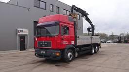 crane truck MAN 26.463 (6 CYLINDER ENGINE WITH ZF-GEARBOX / EURO 2 / 8 TIRES / ATLAS CRANE)
