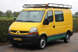 closed lcv Renault 2.5 DCI AIRCO DUBBEL CABINE 2009
