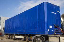 closed box semi trailer Krone SD27 - H = 3.10 M / CAISSE FOURGON - ACIER/STEEL 2010