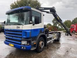 container truck Scania 94D 230 EURO 3 / OPTI CRUISE 2003