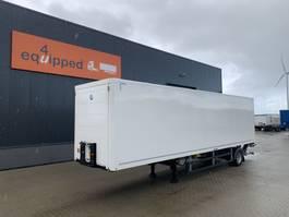 closed box semi trailer System Trailer NIEUW uit voorraad leverbaar City-Box, 2.500klep, TRIDEC, SAF 2021