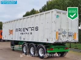 tipper semi trailer Benalu 3 axles 54m3 Alu-Kipper SteelSuspension 1999