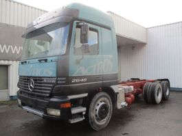 chassis cab truck Mercedes-Benz Actros 2648 , V8 , 6x4 , Retarder , 3 Pedale EPS , Spring suspension 1998