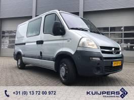 closed lcv Opel 2.5 CDTi / Rolstoelbus / Rolstoellift / Invalide 2004