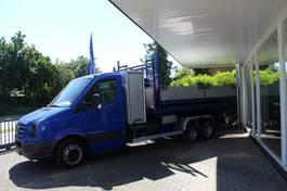light duty tractor unit - lcv Volkswagen CRAFTER BE TREKKER MET HAAKARM CONTAINERSYSTEEM 2007